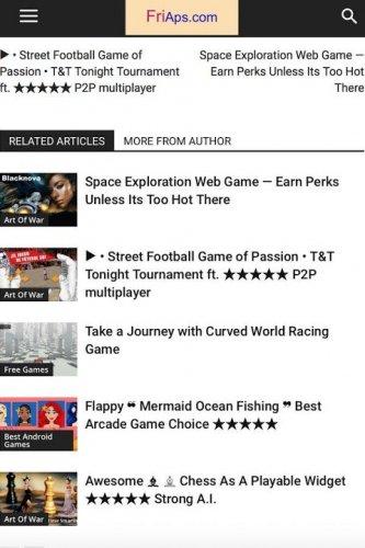 My Friaps - Game reviews screenshot 1