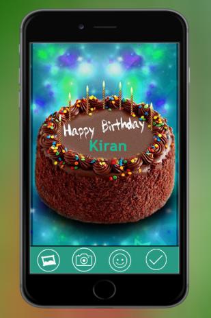 Name On Birthday Cake Photo Frame 1 1 Telecharger L Apk Pour Android