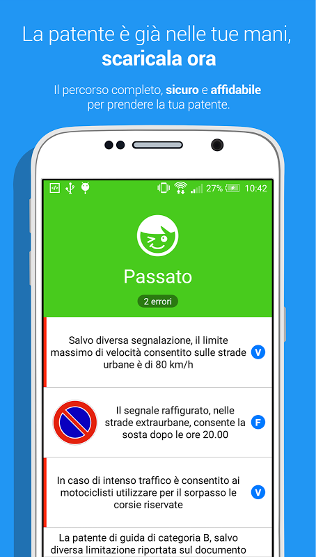 quiz patente b per android