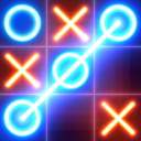 Tic Tac Toe glow - Puzzle Game
