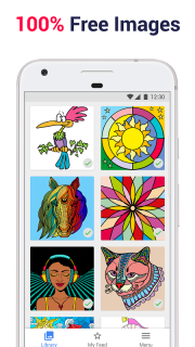 Paint by Numbers: New Colouring Pictures Book Free screenshot 2