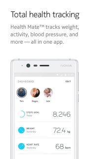 Health Mate - Total Health Tracking screenshot 2