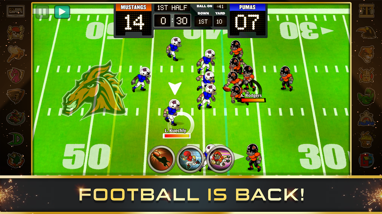Football Heroes PRO 2017 screenshot 1