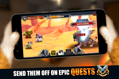 Castle Cats: Epic Story Quests screenshot 6
