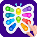 DIY Simple Dimple Pop It Fidget Toys Calming Games