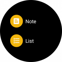 Google Keep - Notes and Lists Screen