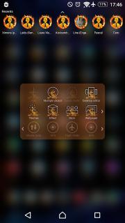 TSF Shell Theme Flames screenshot 2
