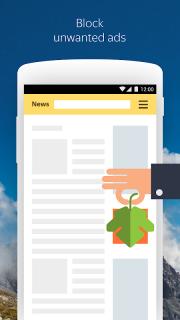 Yandex Browser (alpha) screenshot 12