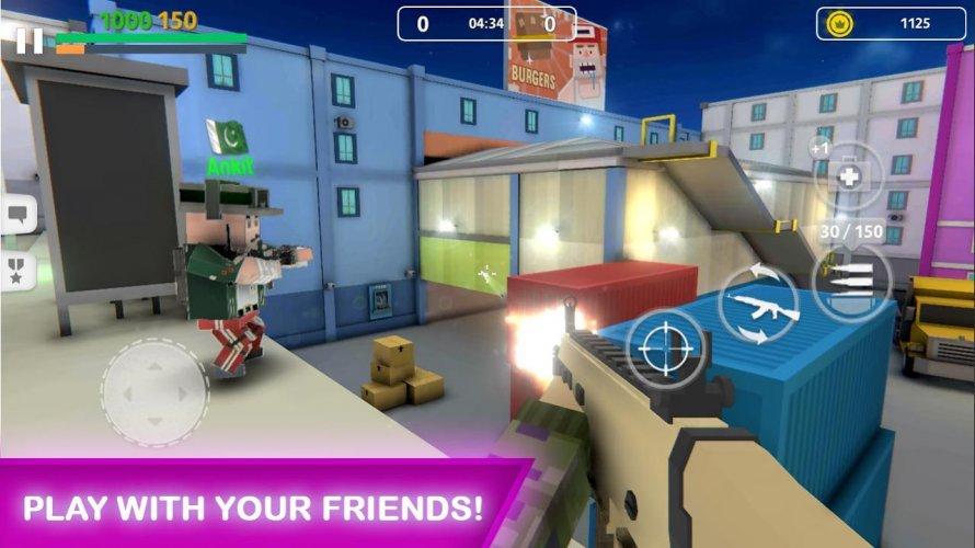 Block Gun: FPS PvP War - Online Gun Shooting Games screenshot 1