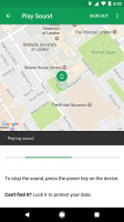 Find My Device Screen