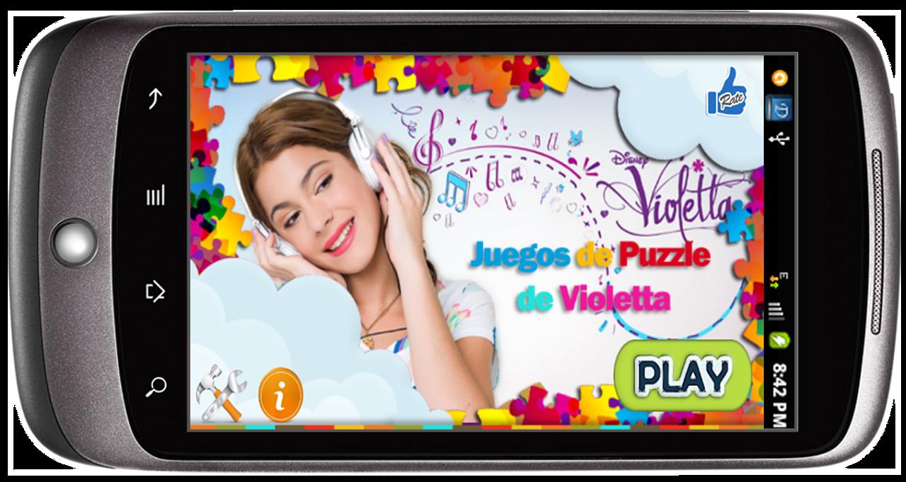 Violetta Puzzle screenshot 1