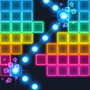 Brick Breaker: hip hop pieno di neon! Palla mostro