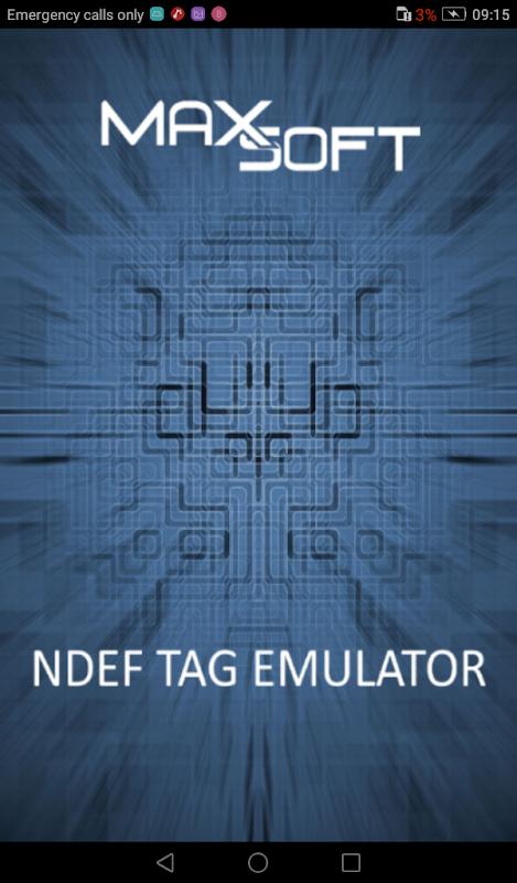 NFC NDEF Tag Emulator screenshot 1