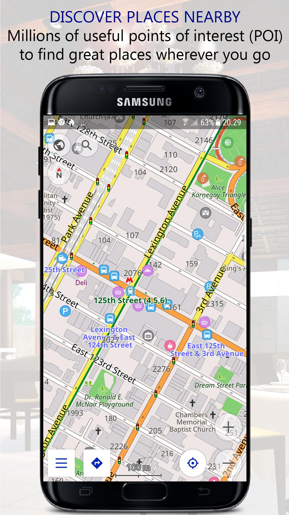 Navigator PRO: Offline GPS Maps screenshot 3