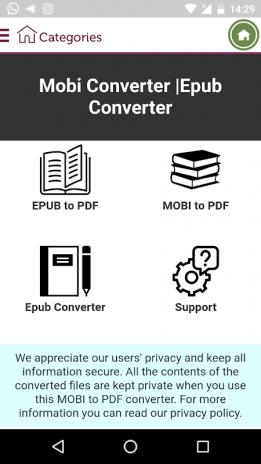 Epub Converter Mobi Converter 3 0 Download APK for Android - Aptoide