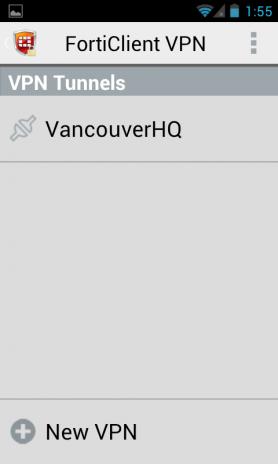 FortiClient VPN 6 0 2 0185 Laden Sie APK für Android herunter - Aptoide