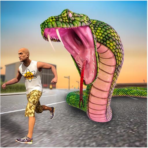 Angry Anaconda City Attack Simulator