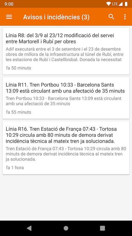 El meu tren - FGC & Rodalies de Catalunya screenshot 1