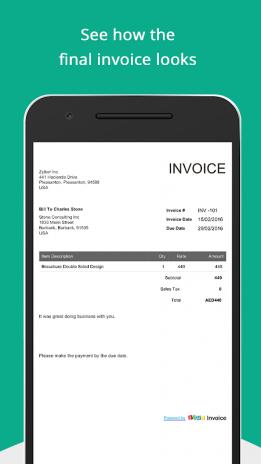 Free GST Invoice Generator Zoho Download APK For Android - Free invoice generator zoho