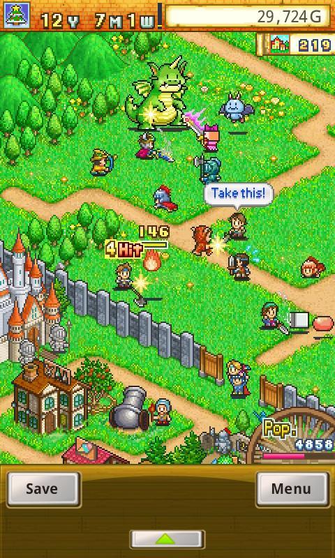 Dungeon Village Lite screenshot 2