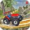 Heavy Tractor Trolley Driver Simulator Game Icon