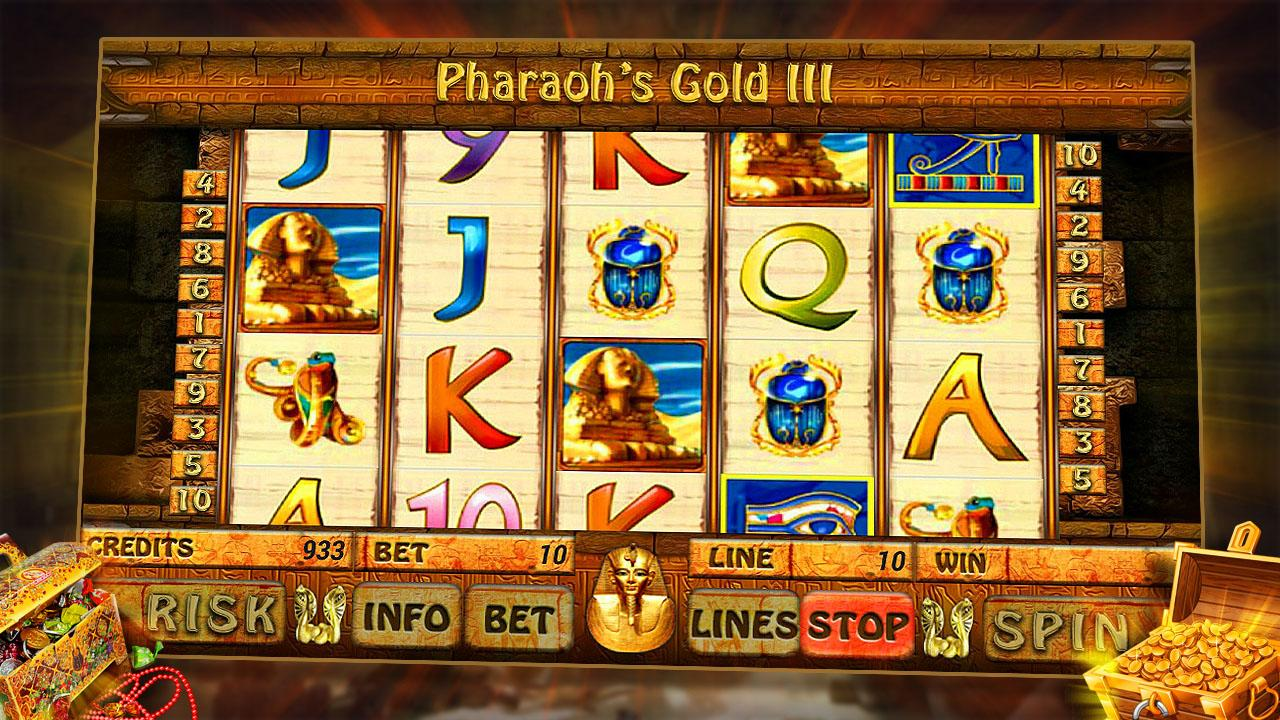 Pharaohs gold iii опис ігрового автомата