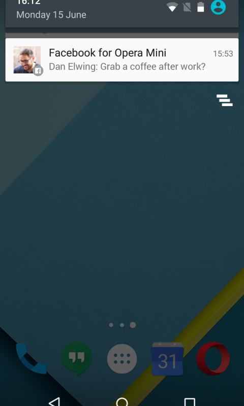 Browser web Opera Mini screenshot 2