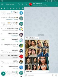 Mobotel (Advanced Telegram) screenshot 1