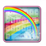 crescent rainbow keyboard icon