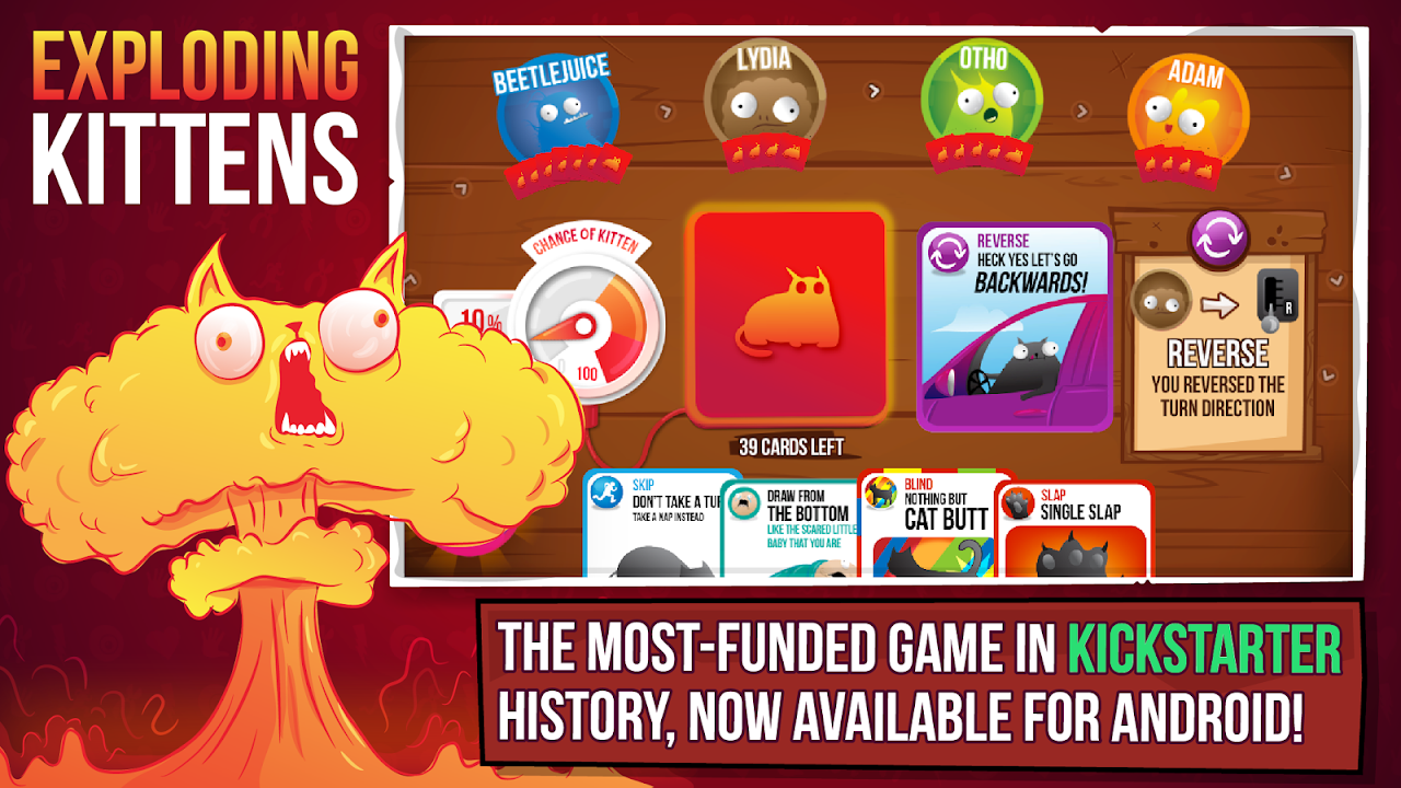 Exploding Kittens® - Official screenshot 1