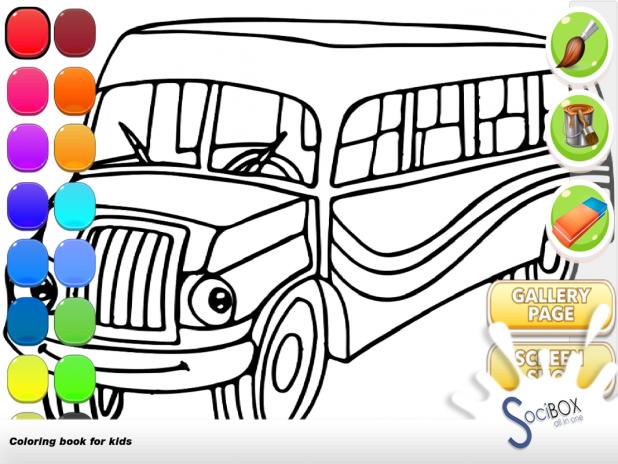Otobüs Boyama Oyunu 10190417 Android Aptoide Için Apk Indir