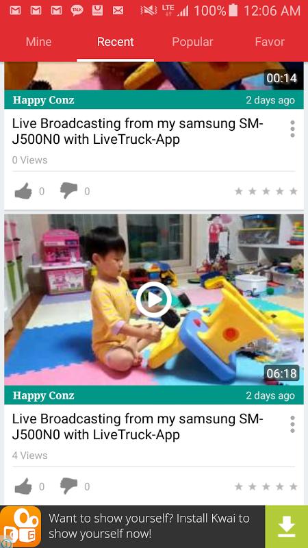 LiveTruck screenshot 1
