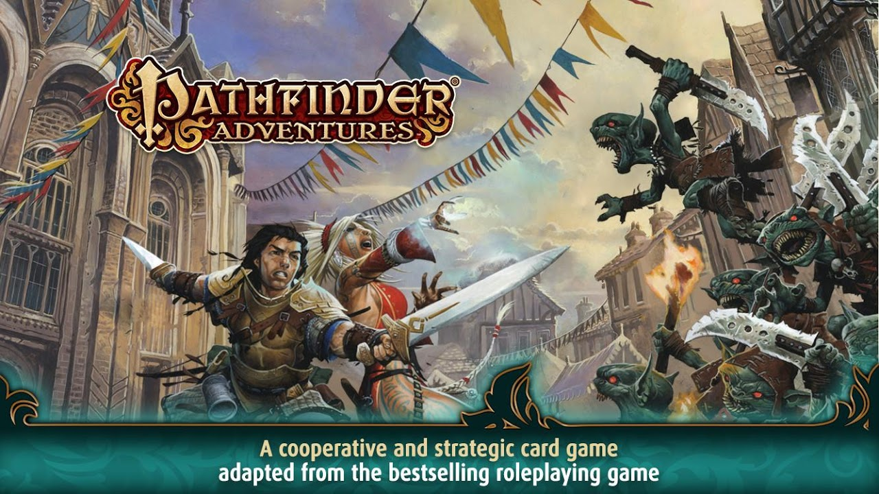 Pathfinder Adventures: a Roleplaying Card Game screenshot 1