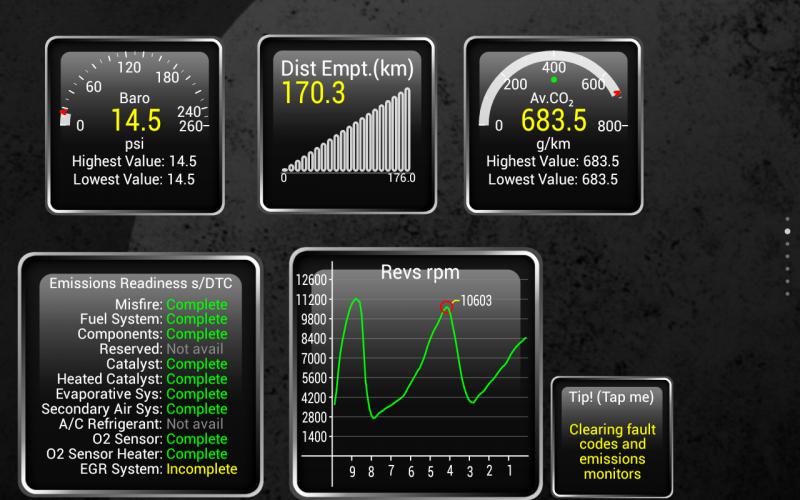 Torque Pro (OBD2 / Carro) screenshot 9