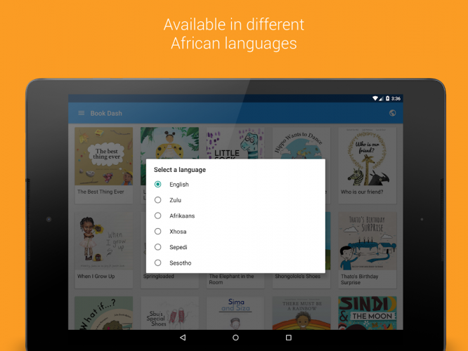 Book Dash: Free African Stories for Kids screenshot 2