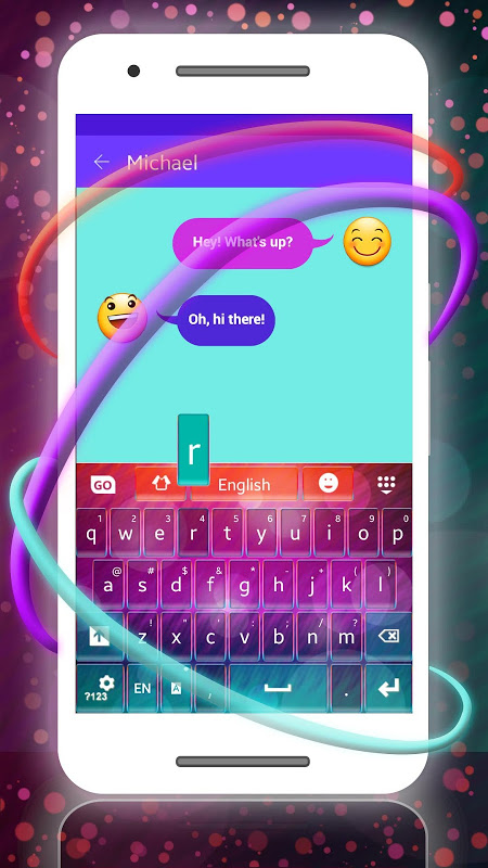 Keyboard for Samsung screenshot 1