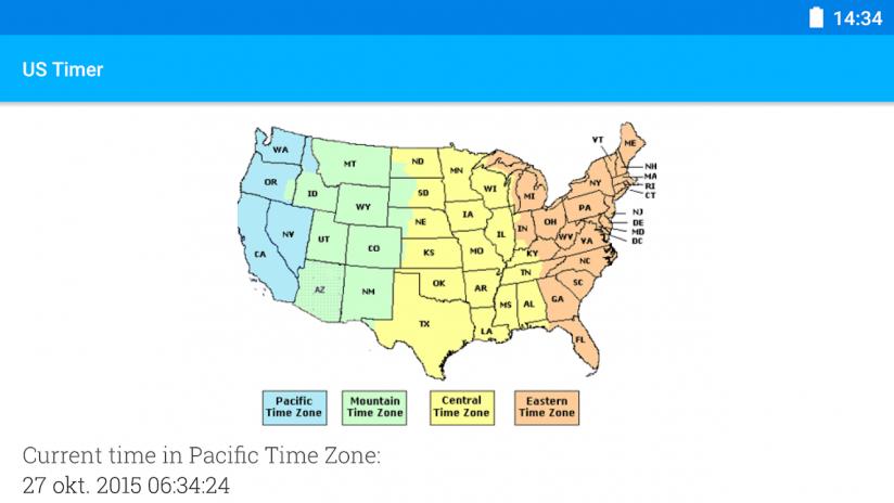 US Timezones clock 2.2 Download APK for Android - Aptoide