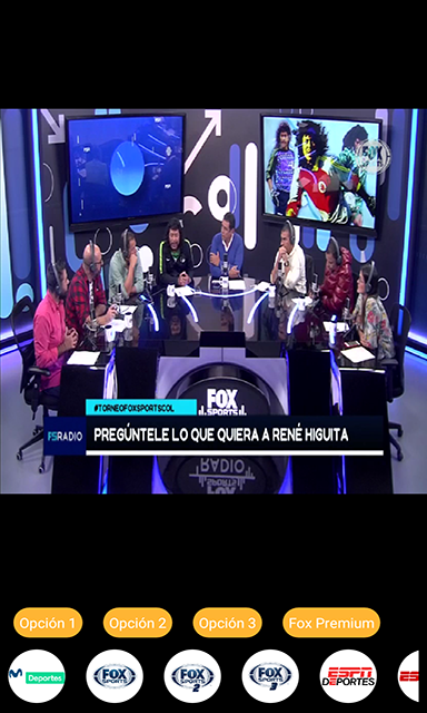 Mitele - Televisión latina (Oficial) screenshot 1