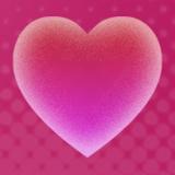 Corações Pro fundo dinâmica Icon