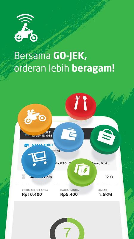 GO-JEK Driver screenshot 1