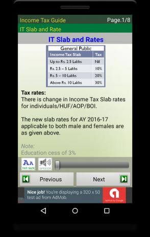 Income Tax Guide1 07 tải APK dành cho Android - Aptoide