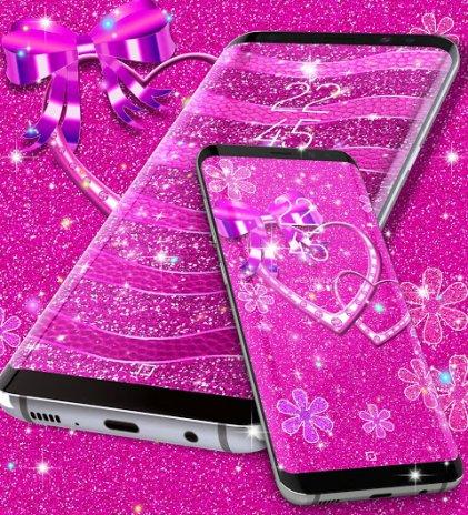 Pink glitter live wallpaper 83 download apk for android aptoide pink glitter live wallpaper screenshot 6 altavistaventures Gallery