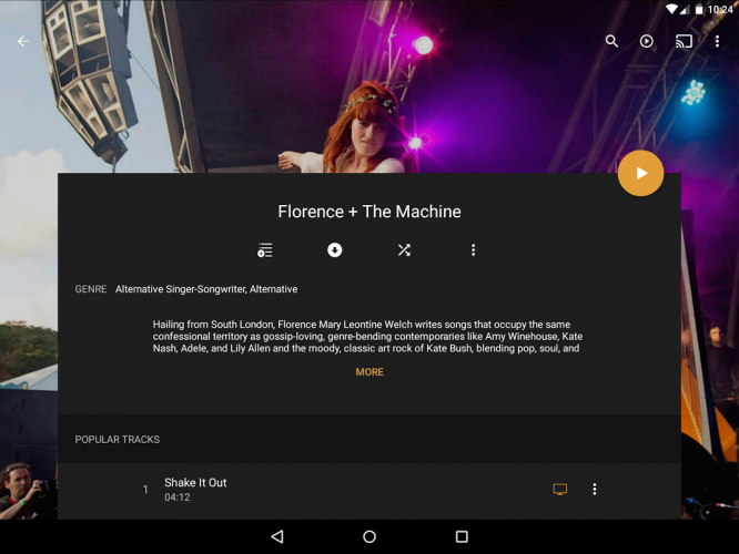 Plex: Stream Movies, Shows, Music, and other Media screenshot 1