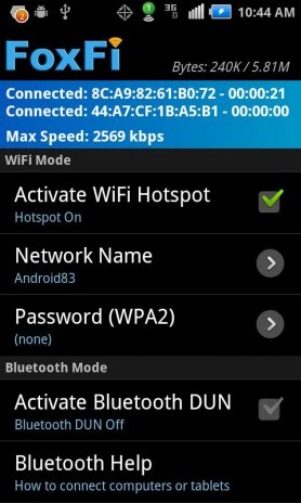 FoxFi (WiFi Tether w/o Root) 2 20 Download APK for Android - Aptoide