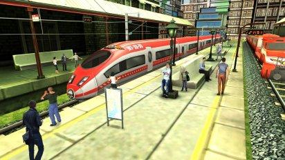Train Simulator — Free Game v 150.8 Mod (Unlocked) 2