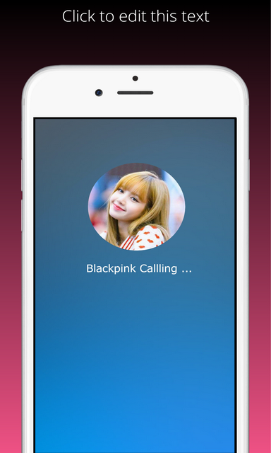 Blackpink Call Prank screenshot 2