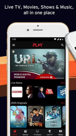 Vodafone Play- Live TV Movies TV Shows Videos Free 1 0 67 Download