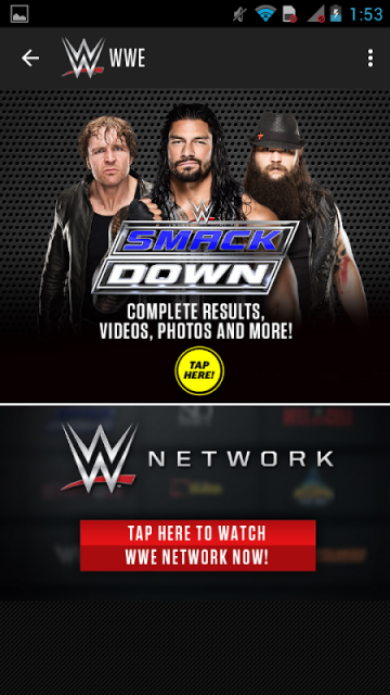 wwe app deutsch