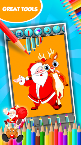 Santa Claus Coloring Book 1 3 Download Apk For Android Aptoide