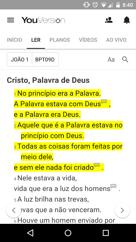 Bíblia Sagrada + Bíblia em áudio screenshot 1